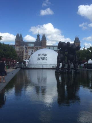 Moving Mesdag on the Museum Square, Amsterdam, ©Panorama Mesdag