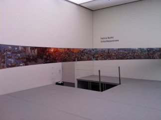 Schlachtenpanorama, contemporary interpretation by Patricia Bucher at the Art Museum Luzern, 2011