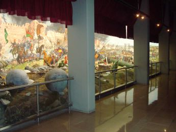 Large-Scale Diorama of the Conquest of Constantinopel 1453, Military Museum Istanbul
