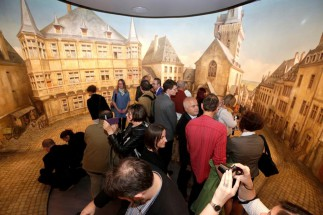 Visit to the Panorama of the City of Luxembourg, ©Musée d'Histoire de la Ville de Luxembourg
