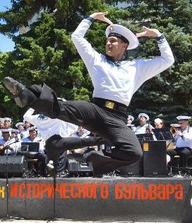 Picture from the website of the Sevastopol panorama celebration