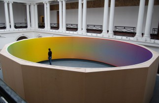 e-cyclorama by Sanford Wurmfeld, exhibition in Edinburgh, 2008