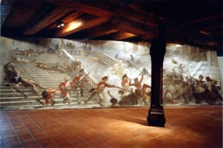 The Storm on the Tuileries Palace in 1792 (temporary exhibition 1993)