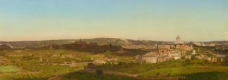 Panorama of Rome, 1 part out of 5
